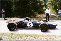 Dan Gurney 1966 Eagle Weslake T1G V12 F1. Goodwood Festival of Speed 1995.