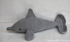 [CROCHET] Amigurumi Dolphin - FREE Crochet Pattern / Tutorial