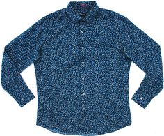 Paul Smith Floral Shirt 16.5 Inch Neck | Grubby Mits