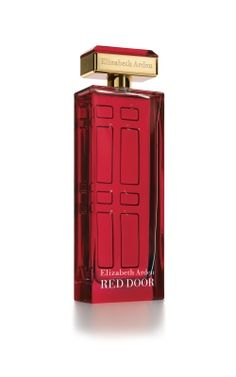 "Signature perfume ""Red Door"": ""The same classic fragrance, with a new signature look."" (http://shop.elizabetharden.com)"