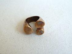 Monica Castiglioni Aperti Ring: Made of bronze. #Ring #Monica_Castiglioni