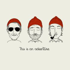 """This Is An Adventure."" (The Life Aquatic With Steve Zissou)"