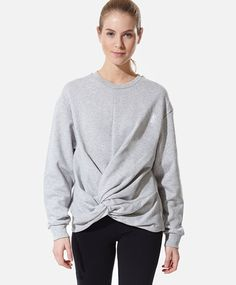 Free time knotted sweatshirt - OYSHO