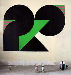 noir vert et rose by -eko-, via Flickr