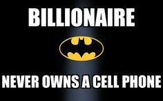 #Batman #billionaire #meme #graphicdesign #marketing #advertising #smallbusiness #smallbiz #MJBPhotographicSolutions