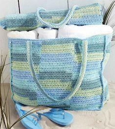 beach bag and mat pattern