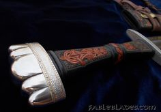 Custom Made Two Handed Viking Sword with Tailor Made Scabbard and Baldric,by Brendan Olszowy. Petersen Type K Hilt. Prayer to Tyr Viking Sword, Swords And Daggers, Vikings, Cuff Bracelets, Prayers, Silver, Jewelry, The Vikings, Jewlery