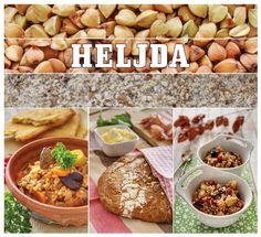 Nasa top namirnica u novembru je HELJDA. Olivera je pripremila 3 jednostvna i ukusna jela sa ovom izuzetno hranljivom namirnicom:    Corba od heljde, Tanka lepinja sa heljdinim brasnom i Heljda sa suvim vocem (str. 42-48.)     http://mezze.rs/exhibit/novembar-2012/