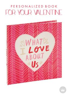 Show that special someone why you're better together with this fun, flirty, personalized book from Hallmark. This makes a truly memorable Valentine's Day gift—or an everyday gift to treasure forever.