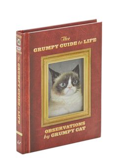 The Grumpy Guide to Life. Embrace your inner curmudgeon with this amusing guide from Chronicle Books. #multi #modcloth