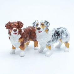 Australian Shepherd Dog Ceramic Figurine Salt Pepper Shaker 00017 Ceramic Handmade Dog Lover Gift Collectible Home Decor Art and Crafts. #Salt #Pepper #shakerset #Figurine #Decor #Gift #gosstudio .★ We recommend Gift Shop: http://www.zazzle.com/vintagestylestudio ★