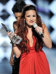 Demi Lovato won the award for Favorite Pop Artist at the PCA's 2012... n shes gonna win again next wed :D
