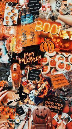 Iphone Wallpaper Herbst, Ed Wallpaper, October Wallpaper, Cute Fall Wallpaper, Halloween Wallpaper Iphone, Holiday Wallpaper, Cute Patterns Wallpaper, Iphone Background Wallpaper, Halloween Backgrounds