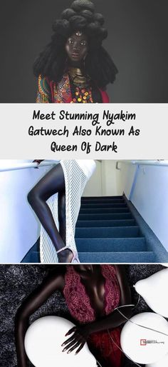 Meet Stunning Nyakim Gatwech Also Known As Queen Of Dark - bemethis Dark Skin Beauty, Dark Nails, Get Shot, Oprah Winfrey, Pink Lips, Black Is Beautiful, Love Her, Meet, Pure Products