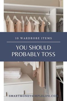 Wardrobe clutter: Do you stand in front of your wardrobe, doors open, frowning at the contents? Take heart. Declutter starting with.