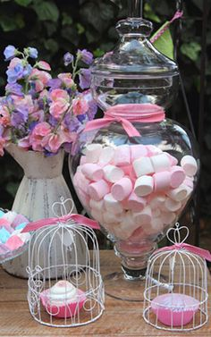 Pink Mints Display-oh my!