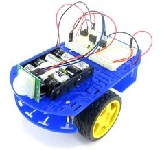 Follow these simple directions to build a motion-activated guard robot using a passive infrared (PIR) sensor