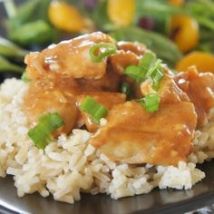Kung Pao Chicken in the Slow Cooker