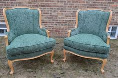 147: Ethan Allen French Bergere Arm Chair/Queen Anne-Near Mint-2 Available #EthanAllen #FrenchCountry