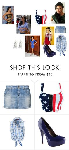 """""""Glee Santana"""" by glee2shake ❤ liked on Polyvore featuring Naya, Replay, Superdry, ALDO and Oasis"""