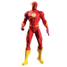 DC Comics Essentials- DC Collectibles Justice League: The Flash Action Figure - PlayAndCollect