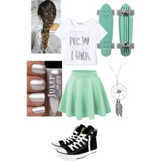A fashion look from December 2014 featuring Converse sneakers and Bling Jewelry necklaces. Browse and shop related looks.