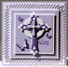 Easter Blessings - Spellbinders Crosses One