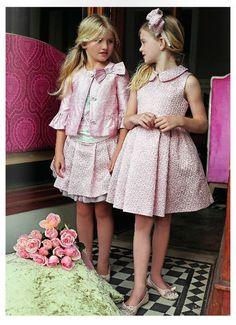 Miss Blumarine – Ss 2014 Tween Fashion, Little Girl Fashion, Toddler Fashion, Fashion Children, Little Girl Dresses, Girls Dresses, Flower Girl Dresses, Baby Dior, Little Fashionista