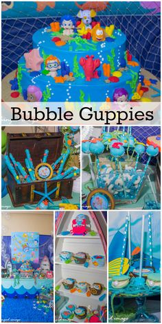 Idea para fiesta de Bubble guppies