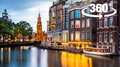 Experience Amsterdam (360° Virtual Reality Guided Tour)
