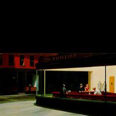 The nighthawks... My favorite painting