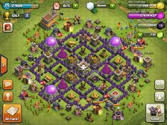 Clash of Clans   Layouts for Town Hall Level Eight (TH8)