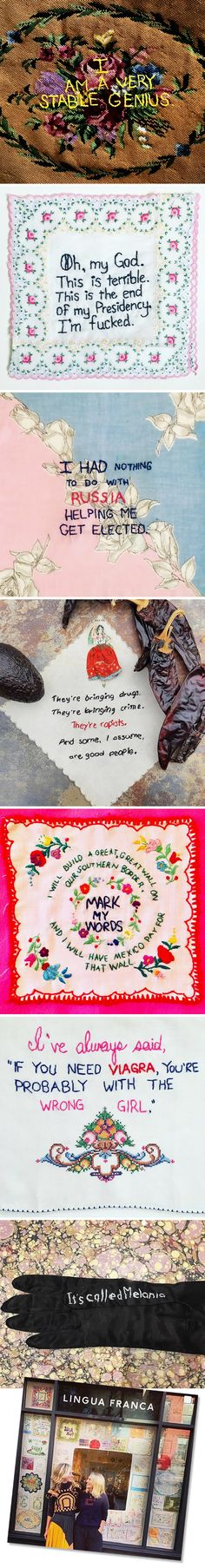 The Jealous Curator /// curated contemporary art /// diana weymar {tiny pricks project} Ridiculous Quotes, The Wrong Girl, Digital Art Gallery, Collage Making, Social Activities, Wool Applique, Creative Outlet, Needle And Thread, Embroidery Thread