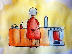 Mi abuela en la cocina by lupiuzzi, via Flickrhttp://www.flickr.com/photos/lupiuzzi/