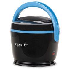 Crock-Pot Lunch Crock - Black SCCPLC200-BK, Blue/Black