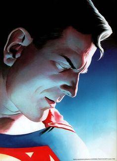 Comic Book Artists, Comic Artist, Comic Books Art, Superman Movies, Superman Art, Alex Ross, Dc Comics Art, Marvel Comics, Batman