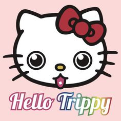 Hello kitty on drugs haha
