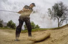 This photo was taken with a GoPro. Phil hit a few short game shots for a new video series coming soon from Callaway Golf. #AlphaLong #Alpha815 #Troon #TroonGolf #PlayTroon