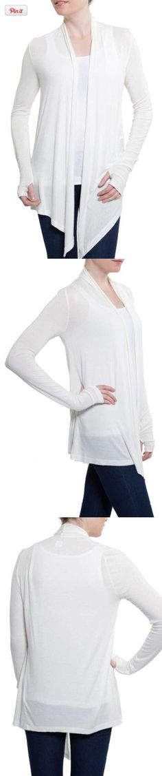 UV Cardigan (Small), This must have summer piece will stylishly add sun protection to any summer outfit.  It will go as well with a sundress as it will with your casual leggings and tee.  The long sleeves have thumb hol..., #Apparel, #Cardigans