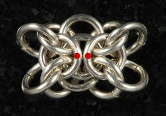 Orc Weave Tutorial. Now how can I make this into a ring? Chainmaille Weave.