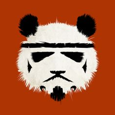 The furriness of a panda crossed with the accuracy of a stormtrooper.  Everyone wins.