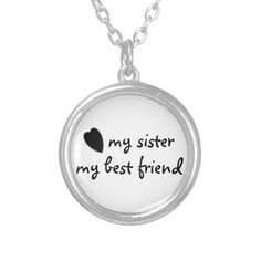 my sister my best friend necklace