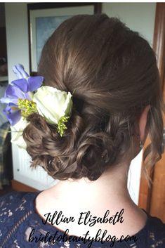 wedding hair, bridesmaid hair, hair flowers Hair Flowers, Bridesmaid Hair, Your Hair, Wedding Hairstyles, Bridal, Hair Styles, Beauty, Hair Plait Styles, Bride
