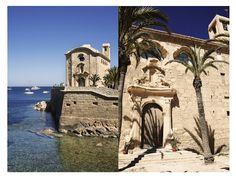 © Ana Zaragoza. The church in Tabarca Island, Valencia, Spain.