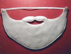 Free Santa Beard pattern