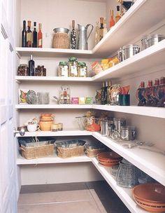33 Favorite Farmhouse Pantry Decor Ideas And Design 33 Favorite Farmhouse Pantry Decor Ideas And Design – - Own Kitchen Pantry Pantry Shelving, Pantry Storage, Pantry Organization, Kitchen Storage, Open Shelving, Shelving Ideas, Pantry Ideas, Storage Shelves, Storage Ideas