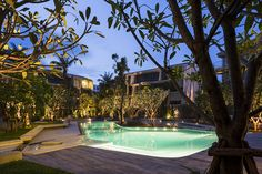 referencing the movement of ocean waves, thai firm sanitas studio has completed the master plan and landscape design for a residential project in thailand.