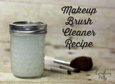 DIY Makeup Brush Cleaner Recipe   Everything Pretty