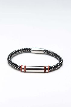 NES Group Fine Men's ID Bracelet
