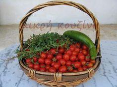 μικρή κουζίνα: Πώς φτιάχνουμε λιαστές ντομάτες Greek Cooking, Greek Recipes, Salads, Picnic, Cooking Recipes, Vegetables, Food, Canning, Chef Recipes